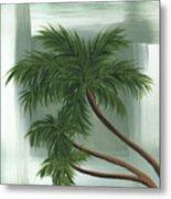 Tropical Splash 1 By Madart Metal Print