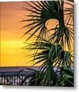Tropical Sunrise Metal Print