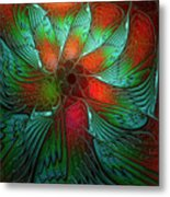 Tropical Tones Metal Print