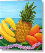 Tropical Trinity Metal Print