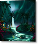 Tropical Vacation  Metal Print