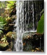 Tropical Waterfall Metal Print