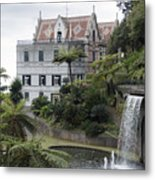 Tropican Monte Palace Garden, Madeira, Portugal. Metal Print