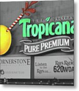 Tropicana Field Metal Print