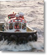 Troubled Waters Metal Print