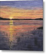 Trout Lake Sunset II Metal Print