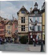 Troyes France Metal Print by Marilyn Dunlap