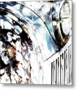 Truck In Dappled Sunlight Metal Print