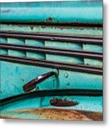 Truck Lines Metal Print