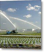 Truck Mounted Irrigation Metal Print