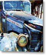 Truckin Metal Print by Debbi Granruth