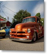 Trucking With Style Metal Print