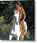 True Horsemen Metal Print