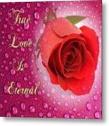 True Love Is Eternal Metal Print
