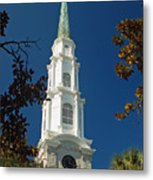 True North - Savannah Steeple Metal Print