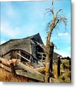 Truly Abandoned Metal Print