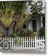 Truman Capote Lived Here Metal Print