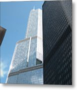 Trump Building From Other Side Metal Print