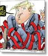 Trump Chaos Metal Print