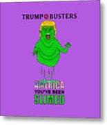 Trump Slimes America Metal Print