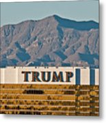 Trump Tower Nevada Metal Print by Andy Smy