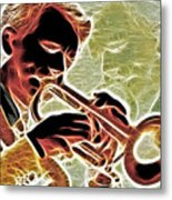 Trumpet Metal Print by Stephen Younts