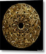Truncated Hyper Dodecahedron Metal Print