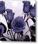 Trunk Roses Metal Print