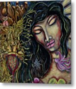 Truth Seer Metal Print