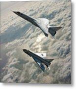 Tsr.2 Advanced Bomber And Lightning Interceptor Metal Print