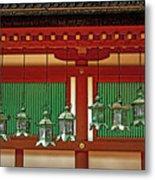 Tsuri-do-ro Or Hanging Lantern #0807-1 Metal Print
