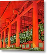 Tsuri-do-ro Or Hanging Lantern #0807-4 Metal Print