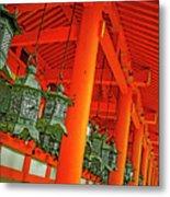 Tsuri-do-ro Or Hanging Lantern #0807-5 Metal Print