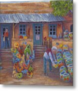 Tubac Pottery Shop Metal Print