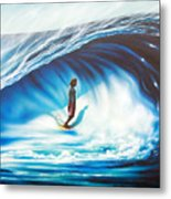 Tube Time Metal Print