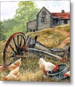 Tucker Time Metal Print