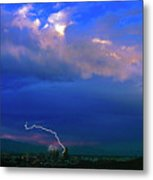Tucson Power Outage-signed-#004 Metal Print