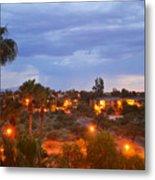 Tucson Skies Metal Print
