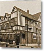 Tudor House Southampton Metal Print