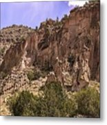 Tuff Cliffs Metal Print