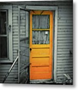 Tuff Times Metal Print by Perry Webster