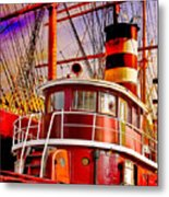Tugboat Helen Mcallister Metal Print by Chris Lord