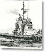 Tugboat Kelly Foss Metal Print