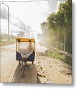 Tuk Tuk Taxi Metal Print