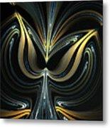 Tulip Abstract Metal Print