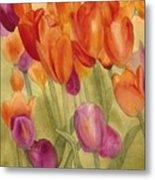 Tulip Glory Metal Print