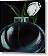 Tulip In A Vase Metal Print