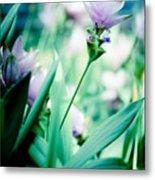 Tulip In Pastel Metal Print