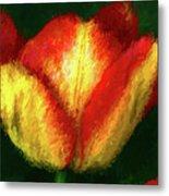 Tulip Painting Metal Print