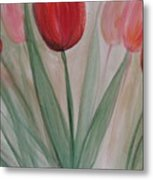 Tulip Series 4 Metal Print